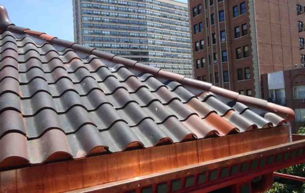 Replaced Built-In Gutters and Valleys at Tile Roof – Project 13032780