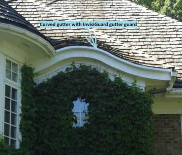 Optimizing gutter drainage system