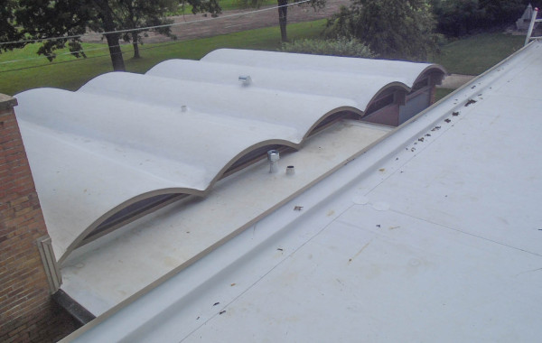 TPO Roofing System over Barrel Roof – Project 15031601