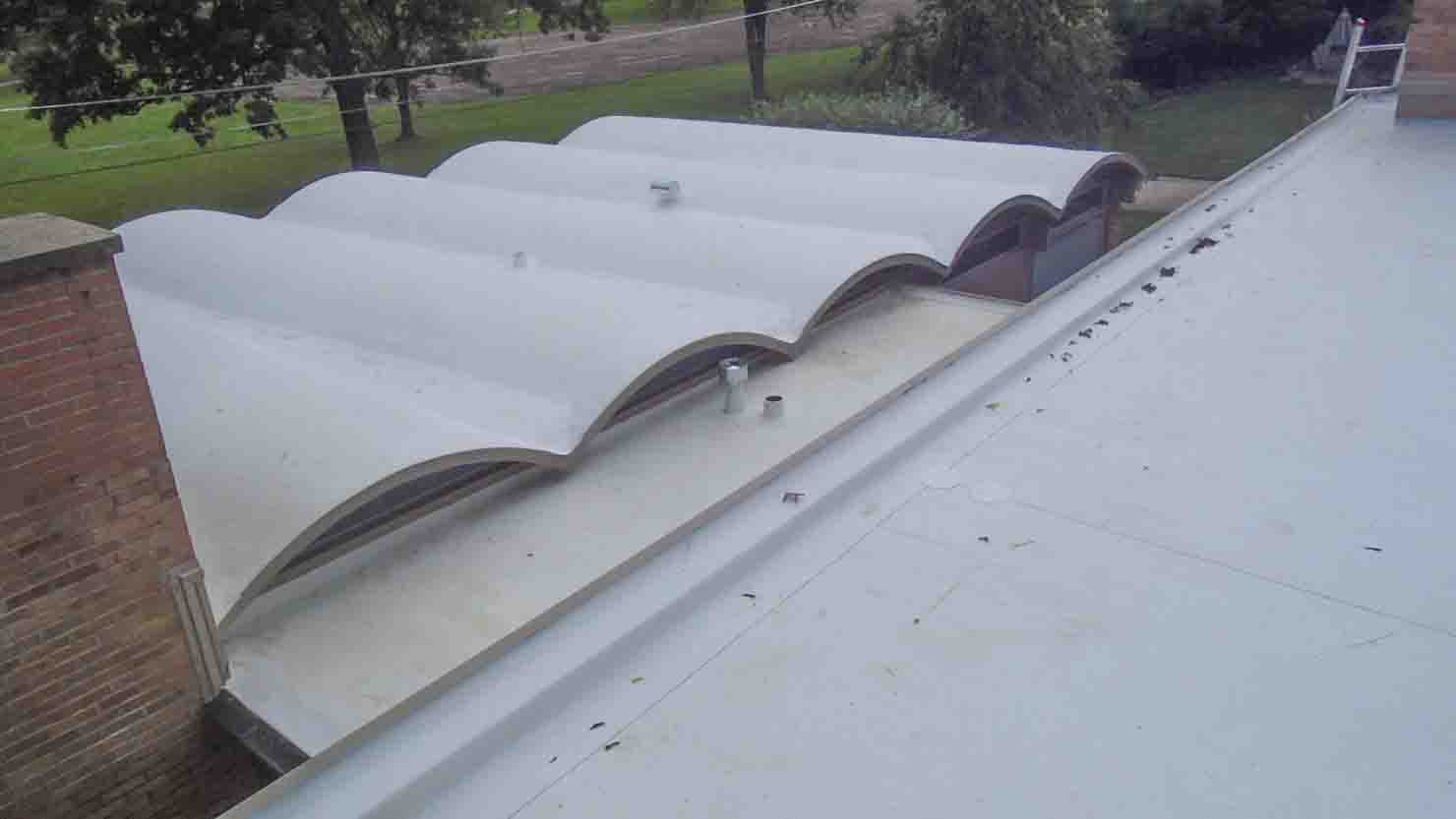 TPO Roofing System Over Barrel Roof U2013 Project 15031601