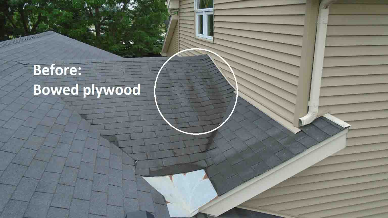 Replaced Indoor Swimming Pool Roofing Project 16081001